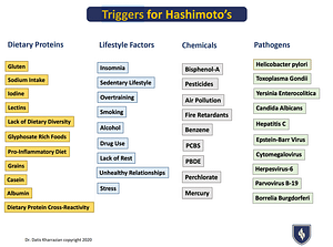triggers for hashimoto's