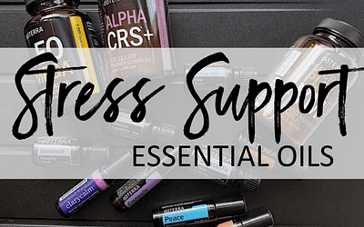 How I use essential oils to manage stress